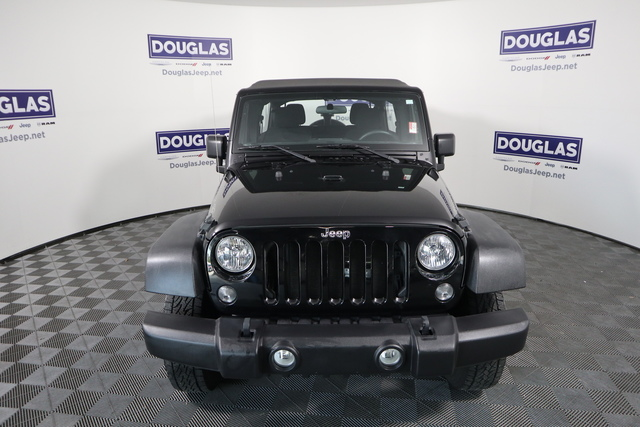 Pre-Owned 2017 Jeep Wrangler Unlimited Sport 4x4
