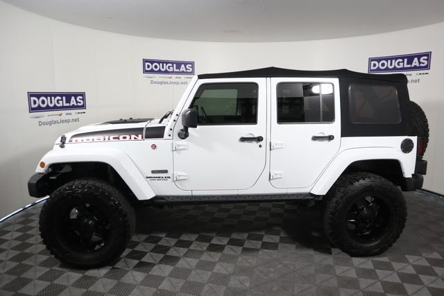 Pre-Owned 2017 Jeep Wrangler Unlimited Rubicon Recon 4x4