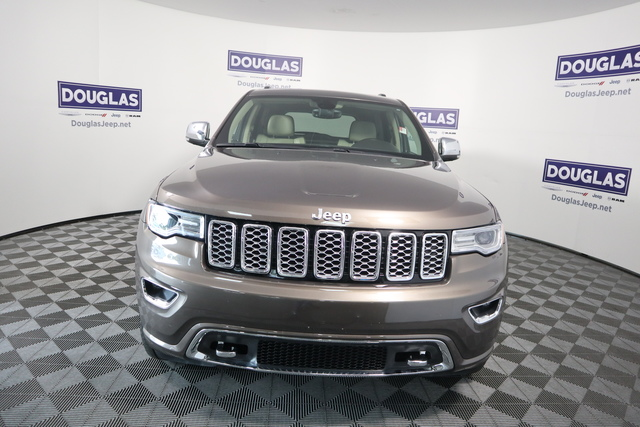 Pre-Owned 2017 Jeep Grand Cherokee Overland 4x2