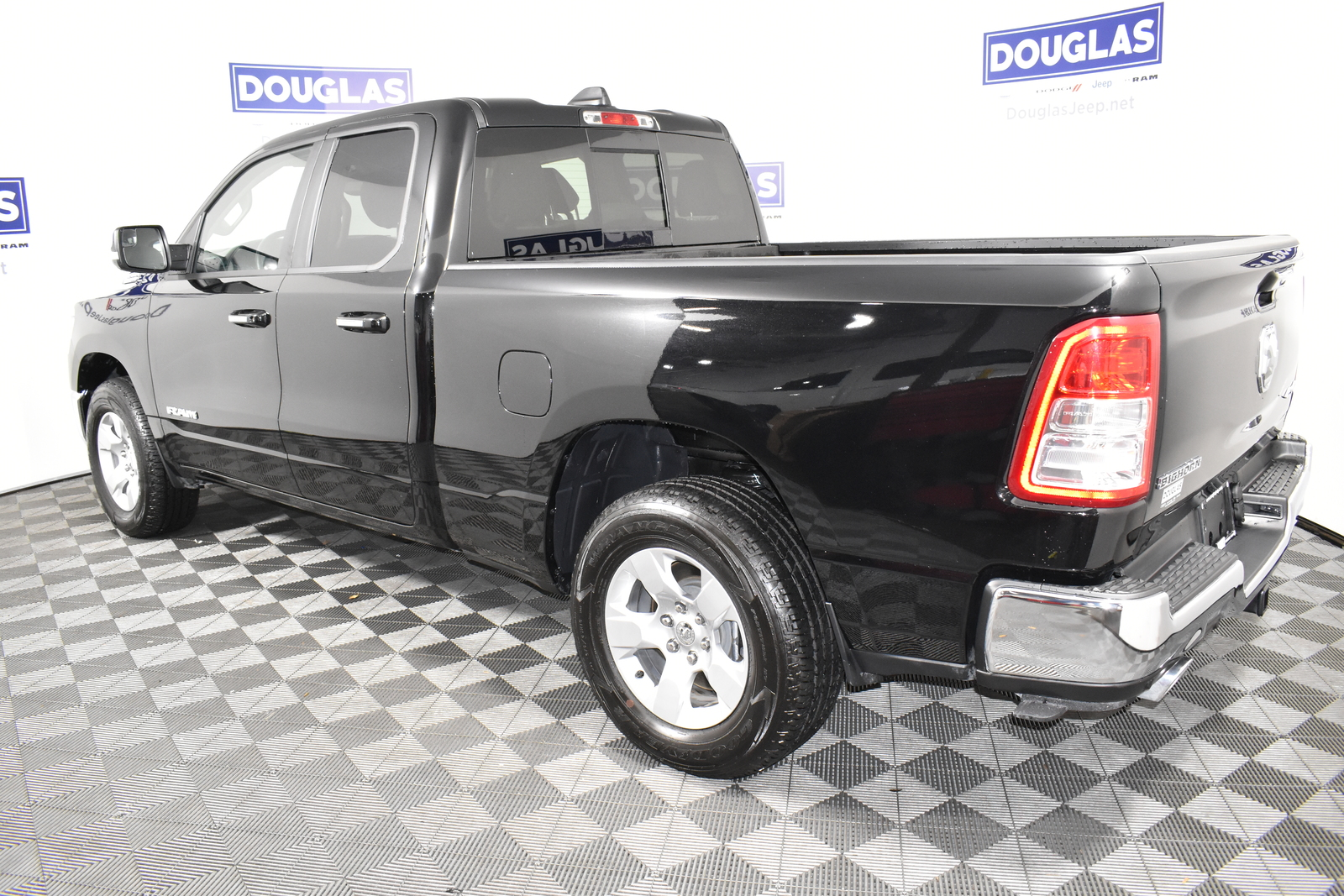 Pre-Owned 2020 Ram 1500 Big Horn 4x4 Quad Cab 6'4 Box