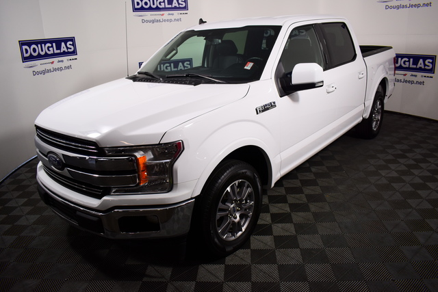 Pre-Owned 2019 Ford F-150 LARIAT 2WD SuperCrew 5.5' Box
