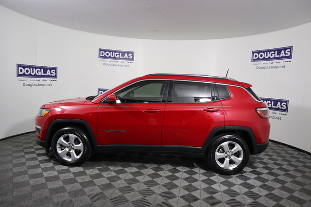 Pre-Owned 2017 Jeep Compass Latitude FWD