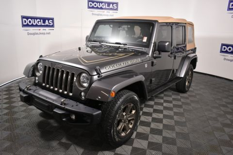 Pre-Owned 2018 Jeep Wrangler Unlimited JK Golden Eagle 4x4
