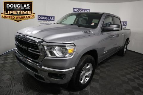 Pre-Owned 2019 Ram 1500 Big Horn/Lone Star 4x4 Crew Cab 5'7