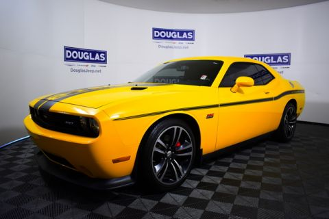Pre-Owned 2012 Dodge Challenger 2dr Cpe Yellow Jacket
