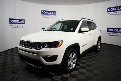 Certified Pre-Owned 2019 Jeep Compass Latitude FWD